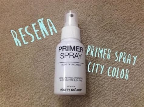 Make Up City Colour primer spray city color rese 241 a