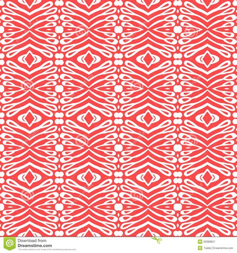 red pattern web flourish clean and simple pattern stock vector image