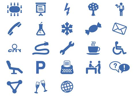 service facilities clipart office services icon set