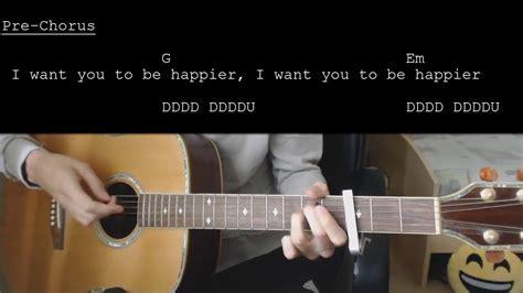 marshmello ukulele chords marshmello ft bastille happier easy guitar tutorial