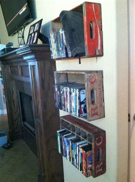 Dvd Shelf Ideas by 78 Ideas About Dvd Storage On