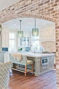 brick kitchen designs best 25 kitchens ideas on utensil storage