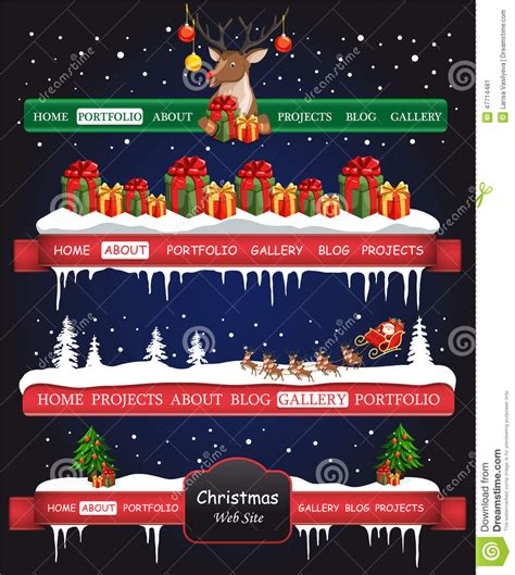 website christmas bar stock vector image of christmas