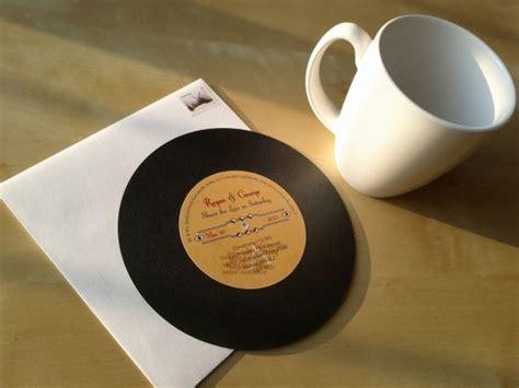 record label wedding invitations record invitations weddingbee photo gallery