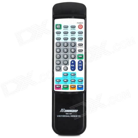 Chunghop Remot Kontrol Universal 3 In 1 Rm 88e Black chunghop rm 101 10 in 1 universal remote black white 2 x aa free shipping