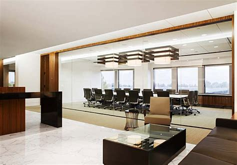 Meeting Room Credenza Modern Law Firm Design Tomboy