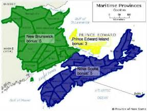maritimes canada map images