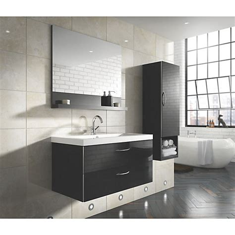 100 argos storage bath panel heated bathroom mirror bientina mirror and shelf black gloss 600mm wickes co uk
