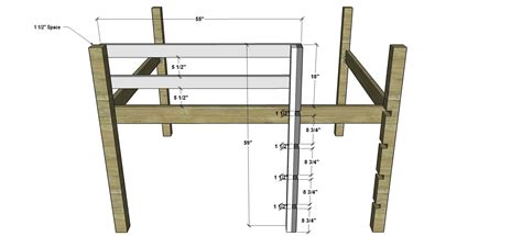 Bunk Bed Ladder Plans How To Make A Bunk Bed Ladder The Best Bedroom Inspiration
