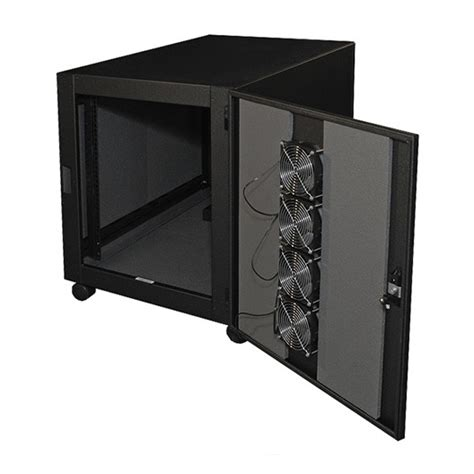 mini server rack cabinet acoustiquiet aq211934 mini cabinet 12u mainline computer