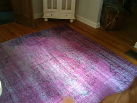 diy overdyed rug on the prowl dining room tables 171 covet living