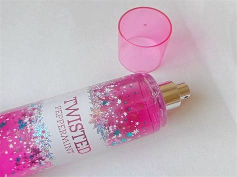 Twisted Peppermint Mist Bath And Works bath and works twisted peppermint fragrance mist review
