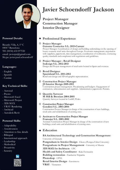 Resume Project Manager Automotive Cv Javier Paul Schoendorff Jackson