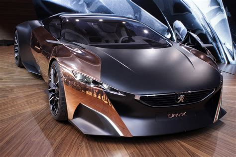 auto pezo peugeot onyx concept car the superslice