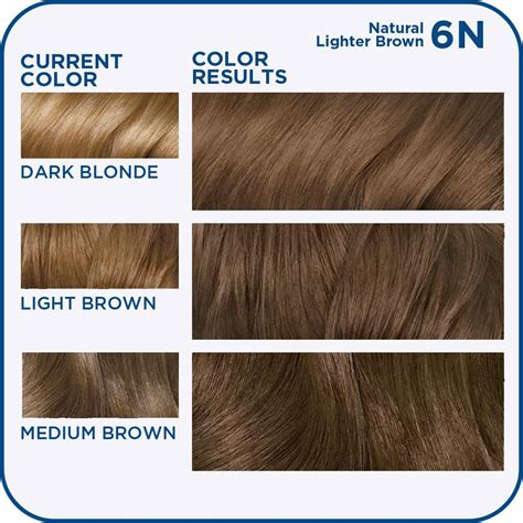 6n hair color clairol n easy hair color 6n 115