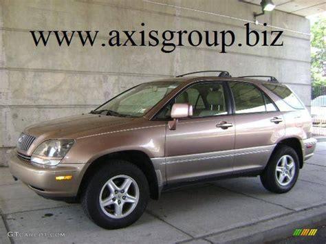 1999 Desert Bronze Metallic Lexus Rx 300 Awd 11353249