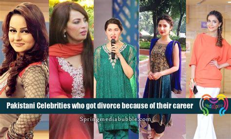 pakistani actress divorce list pakistani celebrities who got divorce because of their