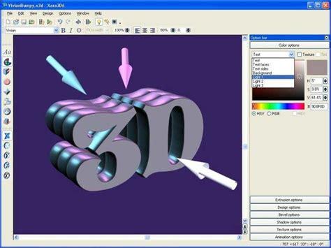 crear imagenes en 3d online gratis xara3d descargar gratis