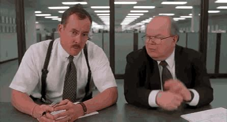 Office Space Hypnosis Gif What Would You Say You Do Here Gifs Find On Giphy