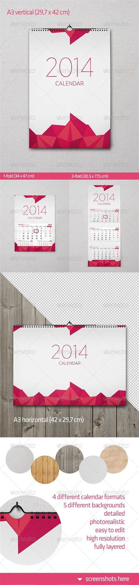 17 Best Images About Corporate Calendar Design On Pinterest Calendar 2014 Fonts And Wall Mock Schedule Template