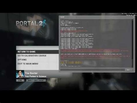 portal 2 console commands portal 2 derping around with console commands