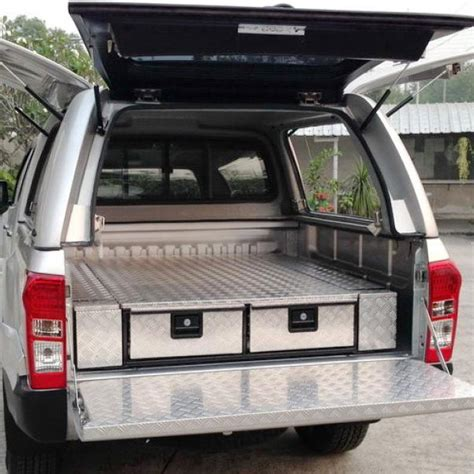 pickup bed drawer system uk aluminum checker plate drawer systems 250 x 1500