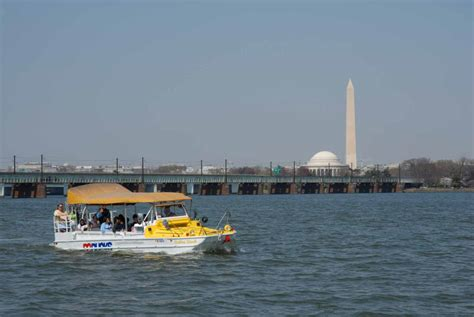 washington dc boat tours this washington dc duck boat tour a jke
