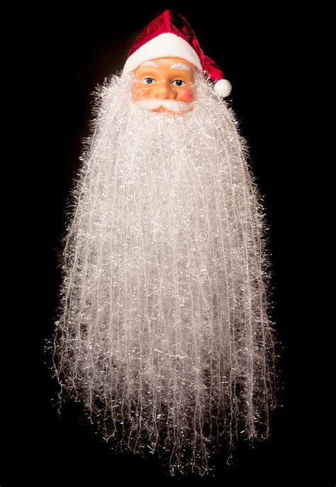 santa claus big beard stock image image  mustache