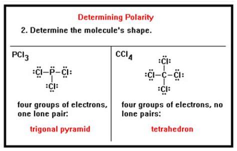 which electron dot diagram represents a polar molecule image gallery pcl3 shape