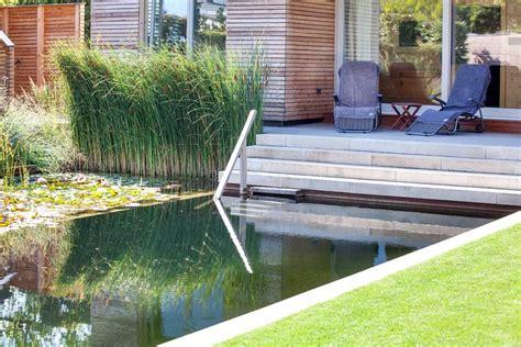Garten Sache by Klare Sache Eine Einheit Aus Haus Schwimmteich