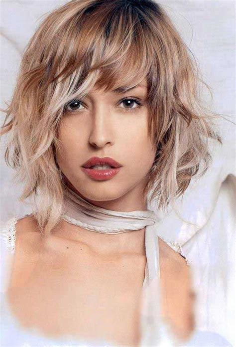 medium haircut with bangs 15 medium layered bob with bangs bob hairstyles 2017