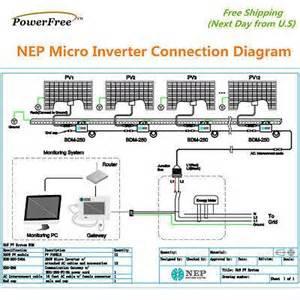 solar microinverter 260w ac panel 240vac as enphase m215 micro inverte afp power