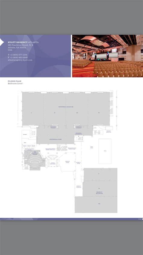 hyatt regency atlanta floor plan 21 best atlanta venue floor plans images on pinterest