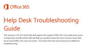 Office 365 Help Desk Is There An Office 365 End User Adoption Kit Office 365 Education