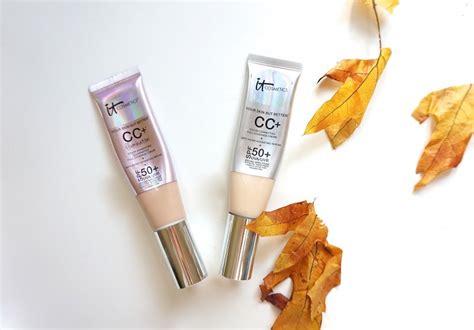 it cosmetics cc light review it cosmetics cc illumination review beautynow