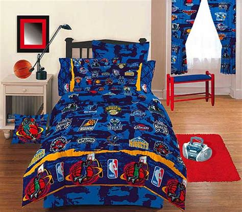 Nba Bedroom Decor by Nba Hoops Basketball Bedding Room Decor