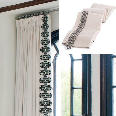 curtain braids trimmings stylish easy window treatments dressingroomsinteriors