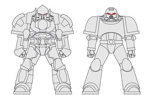 Space Marine Template by Space Marine Vector Custom By Tallguy On Deviantart