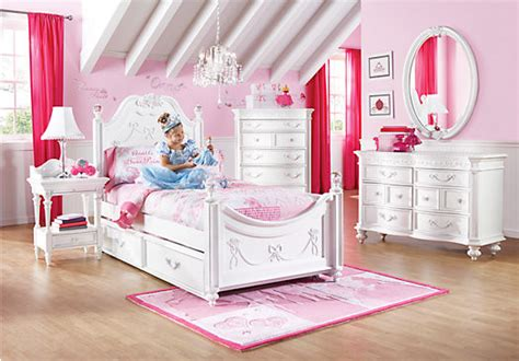disney princess white poster bedroom contemporary