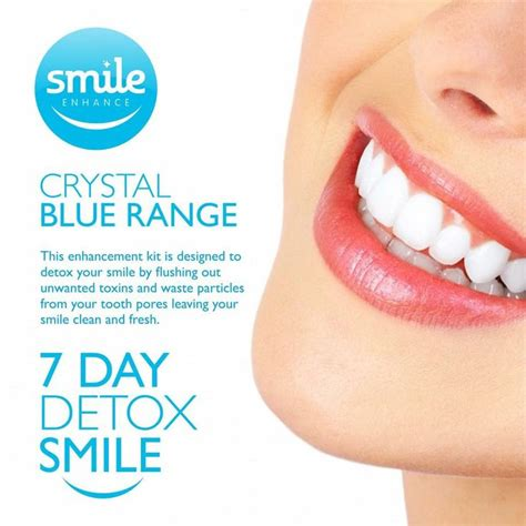 Totally 7 Day Detox by Blue Range 7 Day Smile Detox Only 163 25 Get