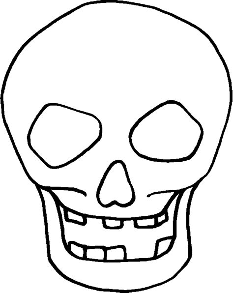 printable skull template early play templates skull masks