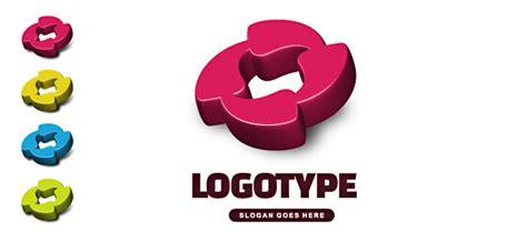 free 3d logo templates free 3d logo vector template free logo design templates