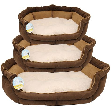 washable dog beds me my luxury suede soft dog pet bed fleece cushion small
