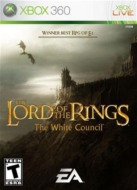 the lord of the rings the white council xbox 360 box