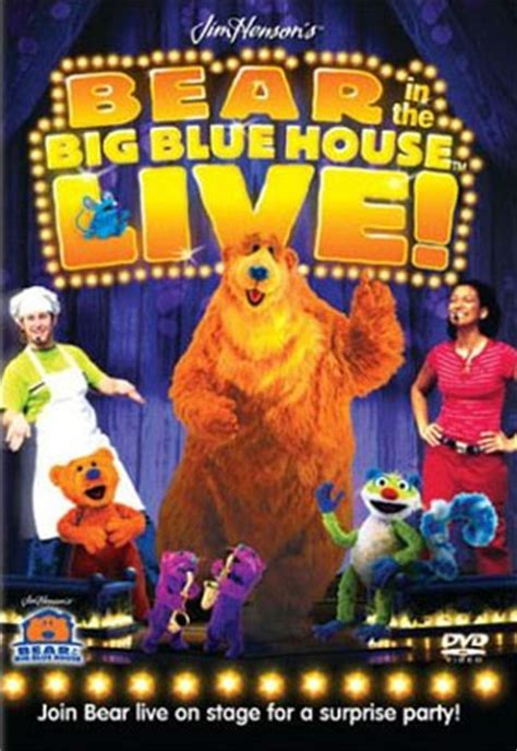 Bear In The Big Blue House Live Surprise Party Muppet Wiki Fandom Powered By Wikia