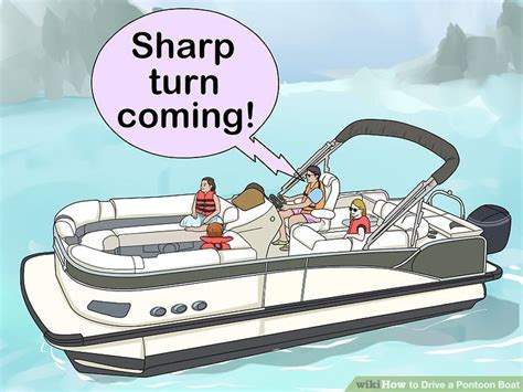 driving a pontoon boat how to drive a pontoon boat with pictures wikihow