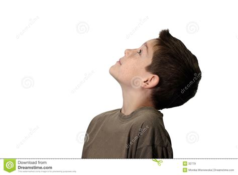 looking up boy looking up royalty free stock images image 32779