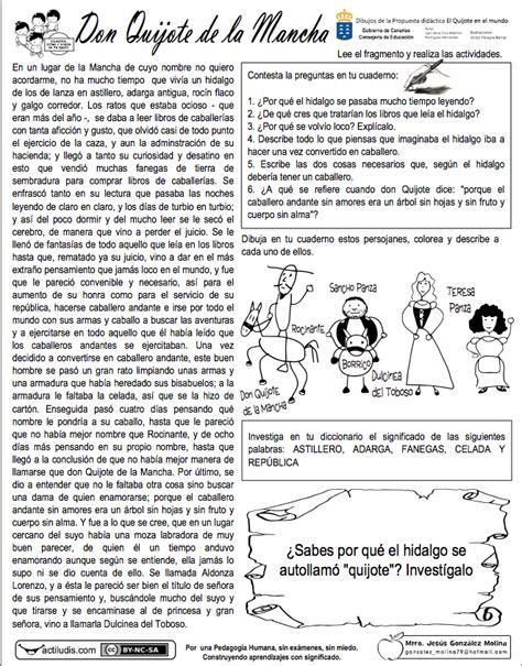 don quijote de la mancha lectura en linea don quijote de la mancha actiludis