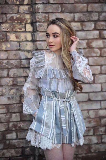 Ruffle Sabrina Dress dress sabrina carpenter grey flouncy dressy ruffle
