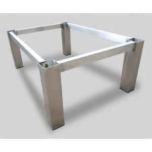 tisch gestell tischgestell tischgestell 160x90x74 edelstahl gestell